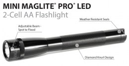 Mini Maglite AA PRO LED Black