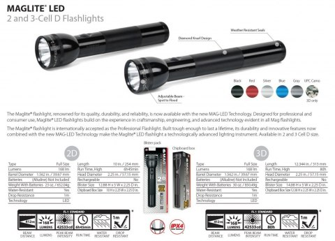 Maglite 3D LED Black