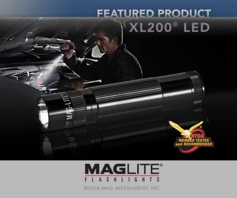 Maglite XL200 LED Black
