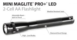 Mini Maglite AA PRO+ LED Black